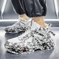Zapatillas para mujer para mujer Blanco Blanco Azul Grey Grey -59 Graffiti Cómodo Transportares transpirable zapatillas deportivas Tamaño de exterior 39-44