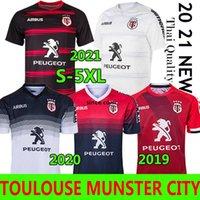 Toulouse Munster City Rugby Jerseys 2021 منزل جديد بعيدا 2020 Stade Toulousain 2019 الدوري جيرسي Lentulus قمصان الترفيه الرياضة أعلى جودة