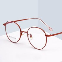 Reven Jate 2054 Full Rim Eyewear Occhiali da vista Occhiali da vista Donne rotonde Myopia Ottici Occhiali coreani ottici Titanium Moda Occhiali da sole Cornici
