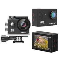 EKEN H9 Eylem Kamera H9R WIFI Ultra HD Mini Kam 4 K / 30 FPS 1080 P / 60 FPS 720 P / 120FPS Sualtı Su Geçirmez Video Spor Kamera