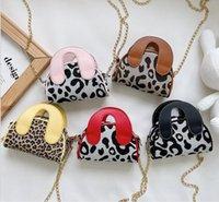 5 colors Children's Handbags 2021 autumn and winter new net red creative retro handbag foreign style girl chain messenger bag coin purse
