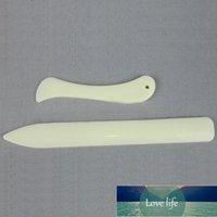 Brevöppnare Imitation Nötkreatur Bone DIY Scrapbooking Supplie Plastskrapa papper Creaser Set Card Making Bone Origami Knife Fabrikspris Högkvalitativ