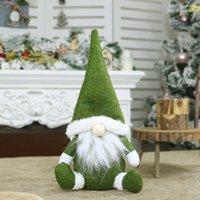 USA Stock Frohe Weihnachten Schwedische Santa Gnome Plüsch Puppe Ornamente Handgemachte Spielzeug Ferienhaus Party Weihnachtsdekorationen