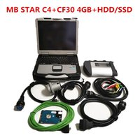 Diagnostic Tools MB STAR C4 SD Tool With V2021.12 Software Ssd Or Hdd Full Set In Toughbook Cf30 4GB Laptop Work Directly