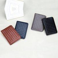 Mujeres hombres RFID Vintage Business Passport Cubiertas Titular Multifunción ID Bank Card PU Caja de cuero Caja Accesorios de viaje