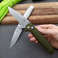 Benchmade 781 Multifunktionsfaltmesser D2 Blade Aluminium Griff Hohe Härte Outdoor Survival Safety Defense Taschenmesser EDC-Werkzeug HW382