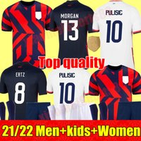 Homens mulheres crianças futebol cristão jerseys pulisic alex megan julie ertz megan rapinoe imprensa lloyd heath yedlin dempsey altidore estados unidos estados futebol camisa