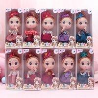 12 cm de boîte à jouets pour enfants princesse poupée confuse doll maternelle cadeau mixte livraison
