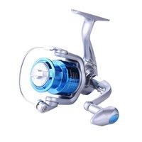 Baicasting Reels Hengjia 12BB Métal Spinning Spinning Spinning Squid Pêche Poignée de gauche Carpe Pesca Tackles