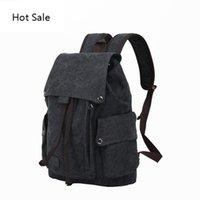 Designer Men's Laptop Computer Backpack High quality Canvas Backpacks Teenage School Bag Fashion Travel Backpack Large Capacity Daypacks