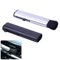 Car Sponge 1PC Conditioning Air Outlet Brush Retractable Cleaning Computer Keyboard Plastic Small Soft