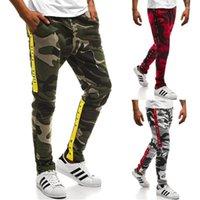 19SS Lettres rayé pantalons de jogger décontracté hommes Camouflage Designer Pantalons Sport