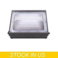 야외 램프 180W LED 벽 팩, 일광 5000K, 12000 LM, HID 교체, IP65, 120-277V, 밝은 일관된 상업용 시업용 보안 조명