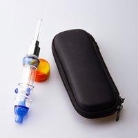 CSYC NC026 물 담뱃대 키트 흡연 튜브 510 스레드 티타늄 손톱 쿼츠 팁 집중합 오일 장비 DAB 빨대 허브 왁스 유리 봉용