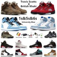air jordan retro 6 Travis Scott x British Khaki Jumpman 6s zapatillas de baloncesto para hombre Carmine 5s Raging Bull 5 University Blue 1 1s hombre mujer zapatillas deportivas