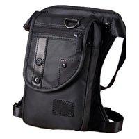 Waist Bags With Belt Leg Motorcycle Rider Shoulder Waterproof Cross Body Hip Purse Messenger Pack Men