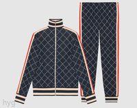 2021 Lüks Erkek Eşofman Tişörtü Erkekler Track Ter Suit Adam Ceket Ceket Hoodie Kazak Spor Takımları