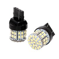 Emergency Lights 12V LED Car Turn Signals Door Dome Day Stop Rear Brake Lamps Truck Position 50SMD T20 Bulbs 4x4 Auto Accessories Interior