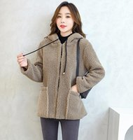 Lamb Fur Coat Women Short Korean Sheep Shearing Imitation Pa...