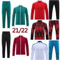21 22 Bayern Mens jacket LEWANDOWSKI Davies muller tracksuit sportswear Kimmich soccer coat Sane training shirt sweatsuits football suits