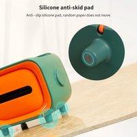 Nordic Household Mobile Phone Rack Paper Towel Box Toilet Holder Storage Shelf TV Shape Home Tissue Boxes & Napkins