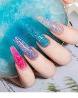 Gel de ongles vernis manucure pour des ongles semi permanent Vernis top manteau UV LED vernis trempe de l'art