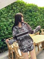 Mektuplar ile Kadın Eşofmanlar Hayvan Desen Baskılı Tops Dipleri Iki Parça Setleri Lady Dış Giyim Spor Eşofman Terry Hoodie ve Pantolon Boyutu S-L