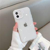Candy Color Acryl Telefon Hüllen für iPhone 13 PRO max 12 11 XR xs x 7 8 PLUS Anti-Herbst transparent Mobiltelefon Schutzabdeckung Hülle Drei Arten von Schutz