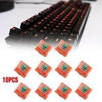 Клавиатурные крышки для выключателей Tangerz Tangerine V2 Механические 62G 67G Полупрозрачная линейная ось настроить DIY Gaming V7Z9