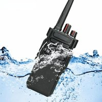 Walkie Talkie IP67 Waterproof 10W UHF (or VHF) VOX Long Range Two-way Radio Station For Factory Farm Warehouse 3KM