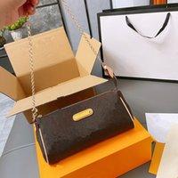 Lederhandtasche kommt mit einer Box WC Kette Umhängetasche Frauen Luxurys Mode Designer Taschen Weibliche Kupplung Klassische Hochwertige Mädchen Handtaschen