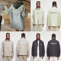 Двойные мужские куртки трек туманный туманный куртка ветровка повседневное пальто заводской выпуск на заводе 2021 мужской страх Божьей одежды под одеждой сезон 073 S4LY #