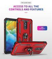 Hybrid Armor Kickstand Phone Case For LG Stylo 6 Aristo2 Aristo3 Aristo 4 Plus LV3 2018 K10 2018 K40 K12 Plus K30 2019 Q60 K50S Back Cover P