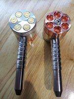 분쇄기와 흡연 파이프 분쇄기와 6 슈팅 파이프 두 기능 담배 파이프 및 허브 그라인더 허브 그라인더 Sestshop