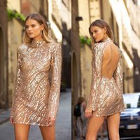Bridesmaid Dress 2021 Autumn Winters In Europe And The Women's Wish Amazon Cross-border Style Glitter Sexy Backless