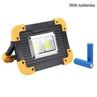 Портативный прожектор светодиодный рабочий свет для охоты на отдых Открытый аккумуляторный 18650 батареи LL-812 фонарики
