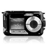 Camcorders 48mp Подводная водонепроницаемая цифровая камера двойной экран видеокамера точка видеокамеры и стрелять сделки JR