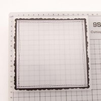 Square Frame Plastic Embossing Folders For Diy Scrapbooking Po Paper Card Making Crafts Craft Tools
