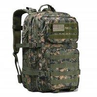 School Bags 50L Large Capacity Man Tactical Backpacks Military Waterproof Outdoor Sport Hiking Camping Bag Rucksack