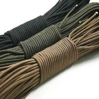 Cordes, élingues et sangle dia.4mm corde d'escalade corde de corde de corde de corde de cordon mild de type 7 Strand extérieur camping survie paracord 31 mètres