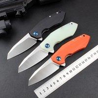 ZT 0456 456 Outdoor Tactical Folding Knife G10 Handle 9cr18mov Blade Bearing Flipper Hunting Pocket Camping Survival Self-defense Knives EDC Tools