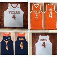 Texas Longhorns 4 Mohamed Bamba MO 35 Durant 23 Aldridge 13 Thompson 0 Bradley 2 Kevin Lamarcus Tristan Avery PJ Jersey di basket