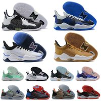 Erkekler Paul George PG 5 5 S Palmdale IV Basketbol Ayakkabı P.George PG5 RY Mavi Turuncu Nane Yeşil Siyah Spor Sneakers Boyutu US7-12 BR Lesvago