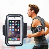 Cajas de teléfono universales Brazalete de bolsa de deportes para iPhone 12 11 Pro Max Samsung S21 Note 20 Máximo 7 pulgadas Bolsa Móvil