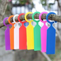 Bookmark 50Pcs Ring Orchard Supplies Garden Tools Decoration Tool Seedling Label Tree Tag Plant Labels Greenhouse Tags