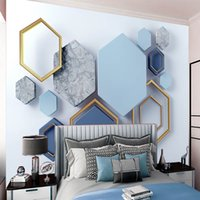 3d Geometric Classic Wallpaper Marble Pattern Modern Mural Wallpapers Living Room Bedroom Kitchen Home Decor Painting Wallcovering