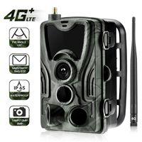 Lite 4G 야생 카메라 MMS / SMS / 이메일 사냥 카메라 16MP 1080P 나이트 비전 트레일 0.3s 무선 감시