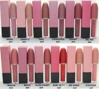 36 PC 최신 무광택 액체 루지 립글로스 / 립스틱 4.5g 좋은 품질 최저 베스트셀러 12 가지 색상