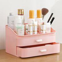 Организатор для косметики женский макияж для хранения контейнера для хранения настольных корзин для стола для стола ведра настольные ведра Sundles Box коробки Box Bins