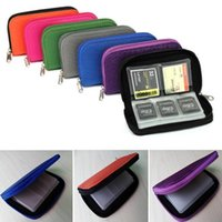 Card Holders 22 Slots Waterproof Memory Storage Bag 2021 Wallet Case ID Holder SD Micro Camera Phone Protector Pouch